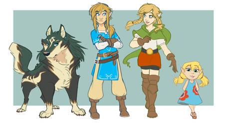 The Link Fam by Earthsong9405