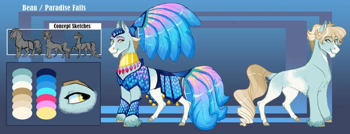 Commission: The Diamond of Las Pegasus