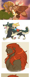 LoZ: Headcanon dump by Earthsong9405