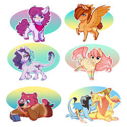 Mini-Comm: Chibi Batch by Earthsong9405