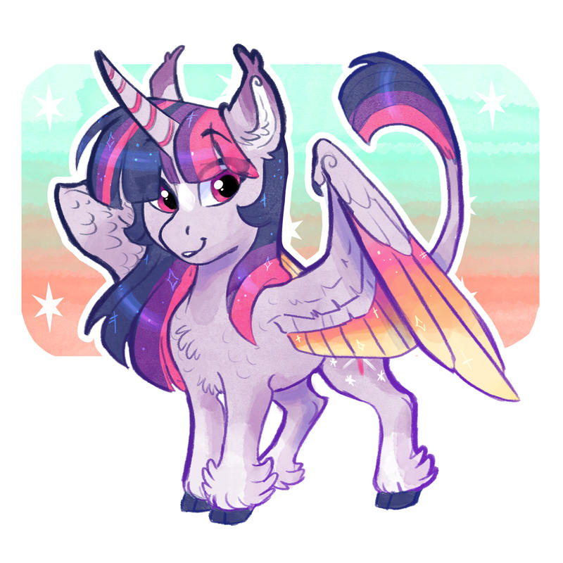 Girl's got sparkles in her eyes by Earthsong9405