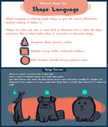 Saturday Short Tips: Shape Language by Earthsong9405