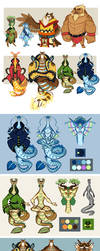 LoZ: Guardian Dragons by Earthsong9405