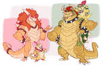 Bowser and Bowsette: BIG and BURLY