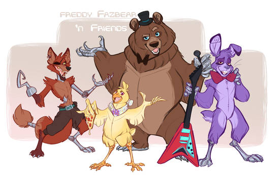 Are YOU ready for Freddy 'n Friends?