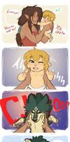 LoZ: from ah-CHOO to awoo! owo
