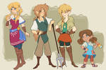 LoZ: Heroes and Hylians and headcanons, oh my!