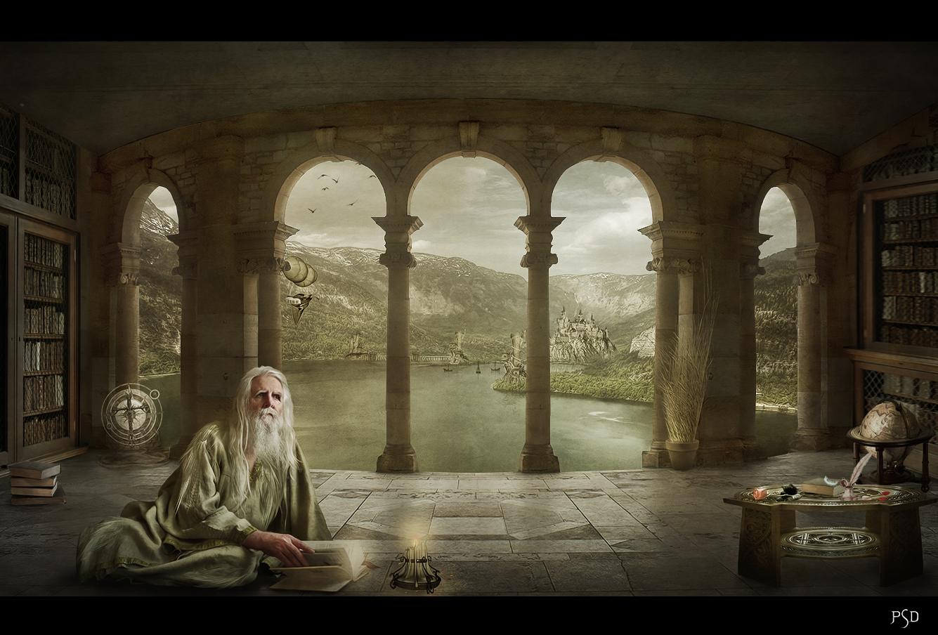 Le refuge du Poete by ThyC-Graphics