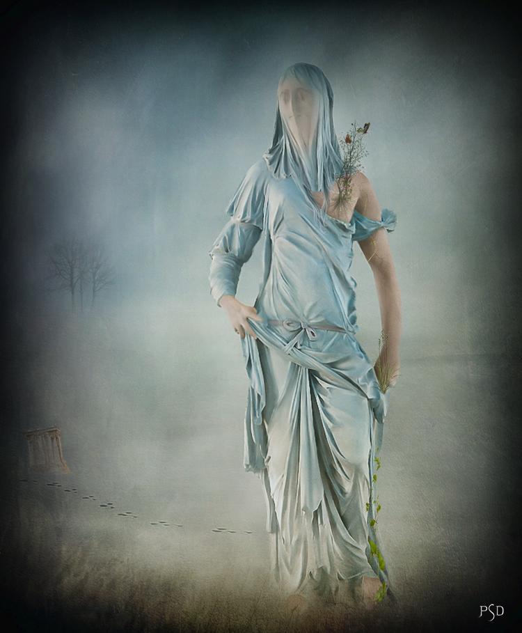 Un jour, une statue.... by PSD-Graphics