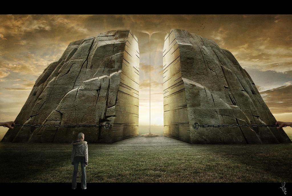 La porte du Temps... by ThyC-Graphics