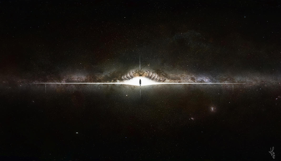 Lost in Galaxy by ThyC-Graphics
