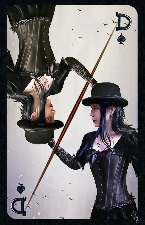 Dame de pique by ThyC-Graphics