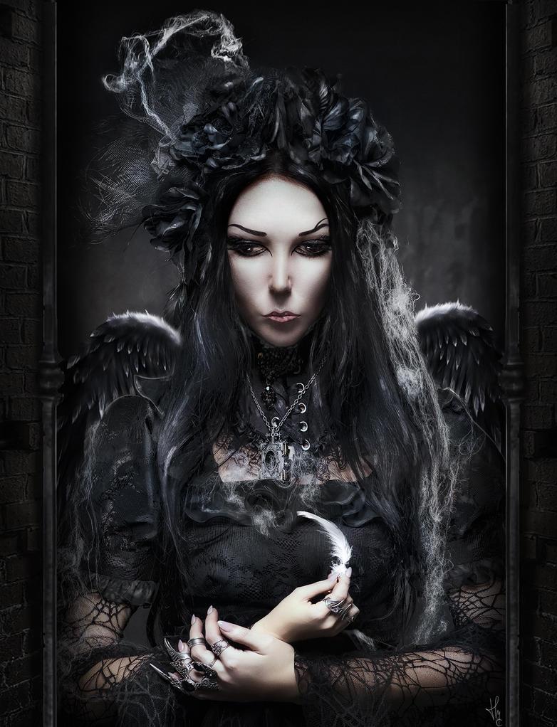 La noirceur de l'Ange... by ThyC-Graphics