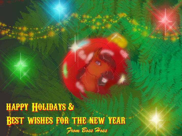 Happy Holidays, version1 by Boss-Hoss1
