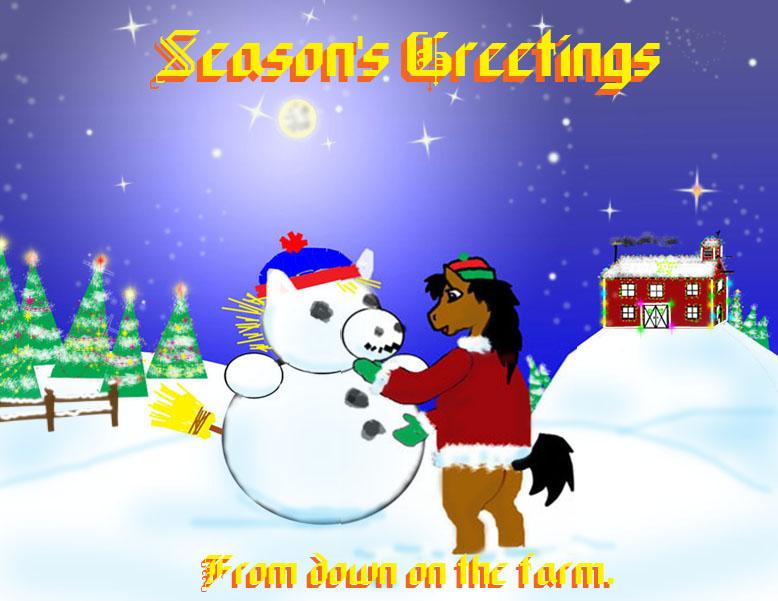 Seasons Greetings, revised. by Boss-Hoss1