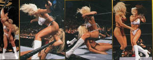 female pro wrestling the kat by andypedro