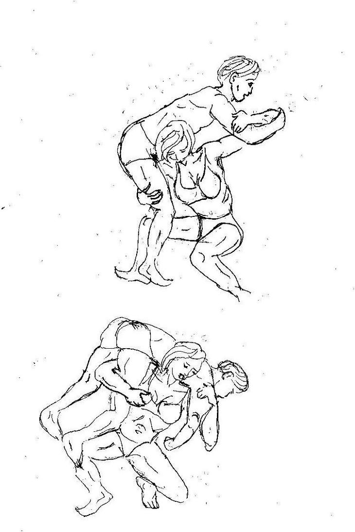 mother and son wrestling 2 by andypedro on DeviantArt