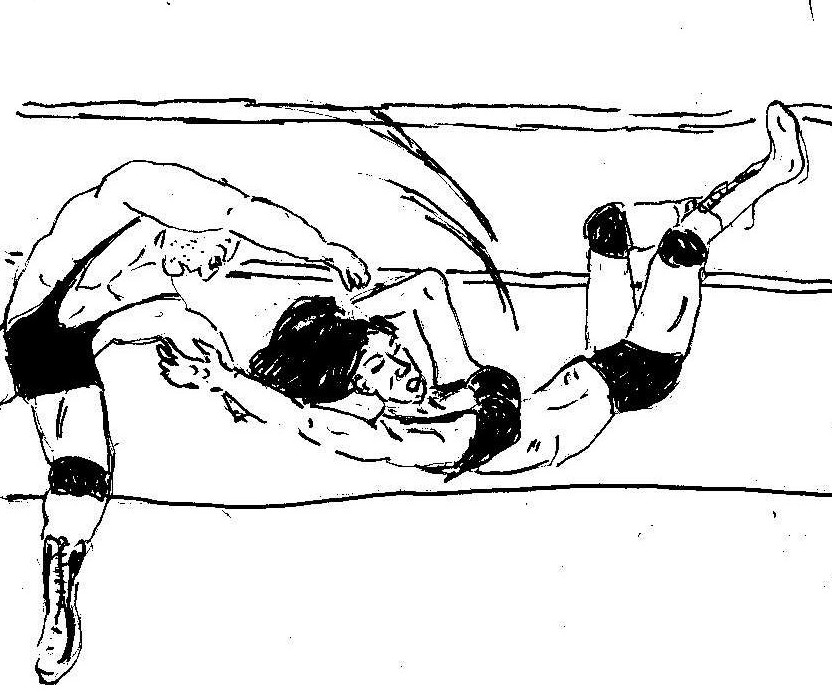 Mixed Wrestling  The Slam 02149 by andypedro