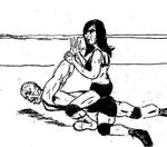 Mixed Wrestling Double Armbar156