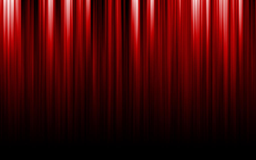 Closed theater curtains - Stage Curtains Clipart