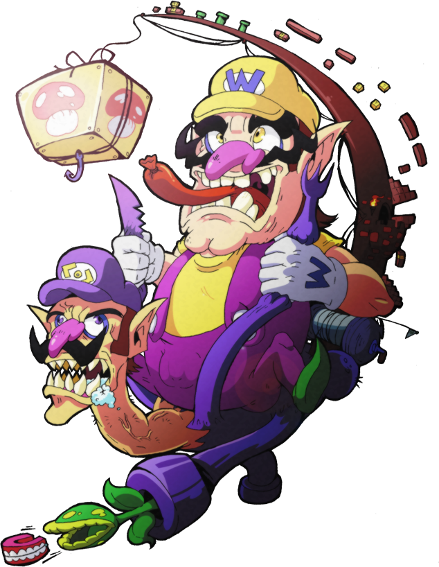 Wario and Waluigi by PokekoksWario And Waluigi Wallpaper