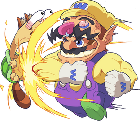 Mario: Wario Suit by Pokekoks
