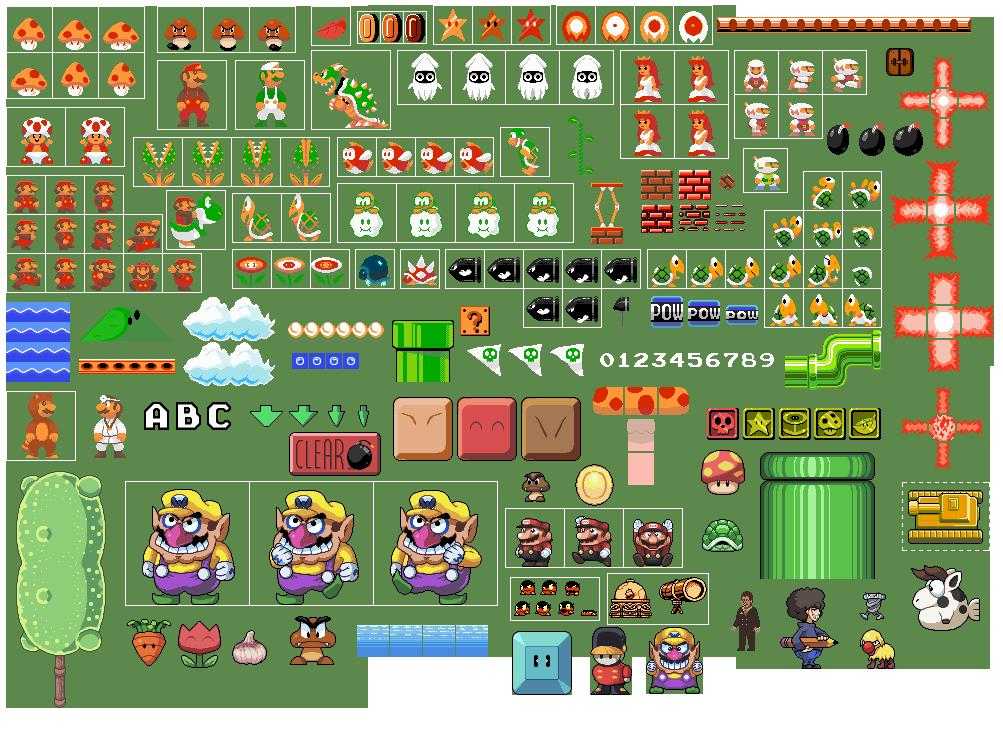 Image Gallery Mario Stuff