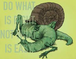 The Snail by SnailShoes