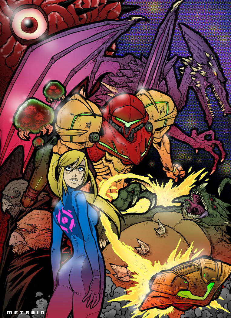 METROID by SnailShoes