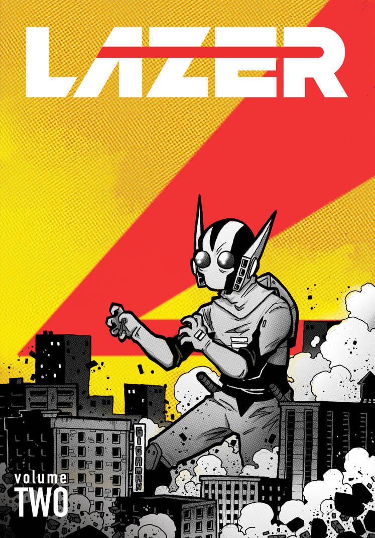 LAZER Volume 2 Cover