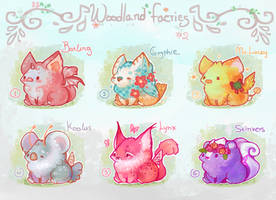 [CLOSED] Woodland faeries friends 2 by miloudee