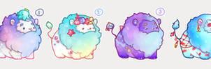 [CLOSED] Summery fluffy mini lions