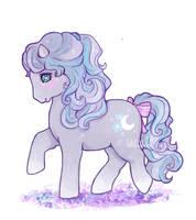 My little pony OC kinda by miloudee