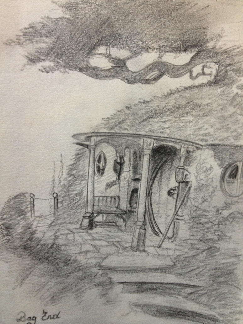 Bag End Lord Of The Rings John Howe Copy By Madshamael On Deviantart