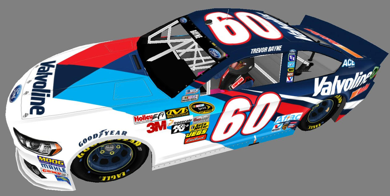 Paint Schemes A Modern Take On A Classic Valvoline Paint Schemelowes4804 On