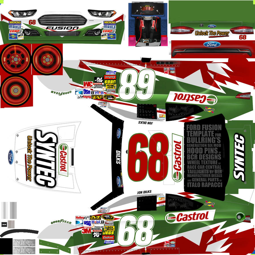 displaying 17 images for nascar template gen 6