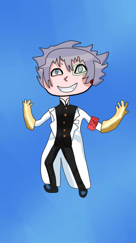 Chibi Science Leader by osananajimikawaii12