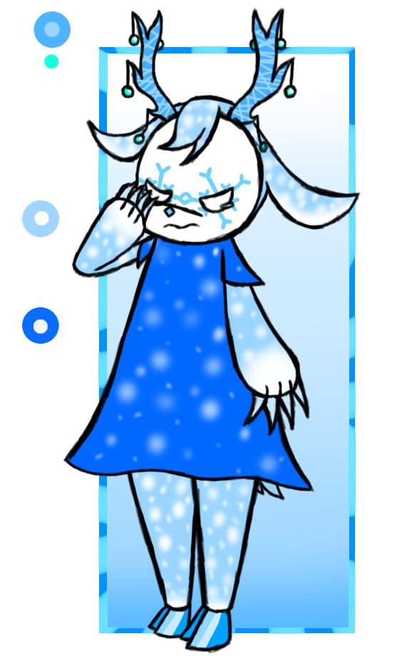 Onisheep set price - Snow Deer (Mine now) by Cheekymoomoo
