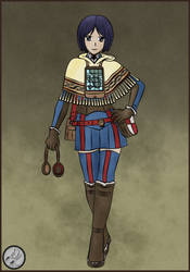 Valkyria Chronicles - Isara