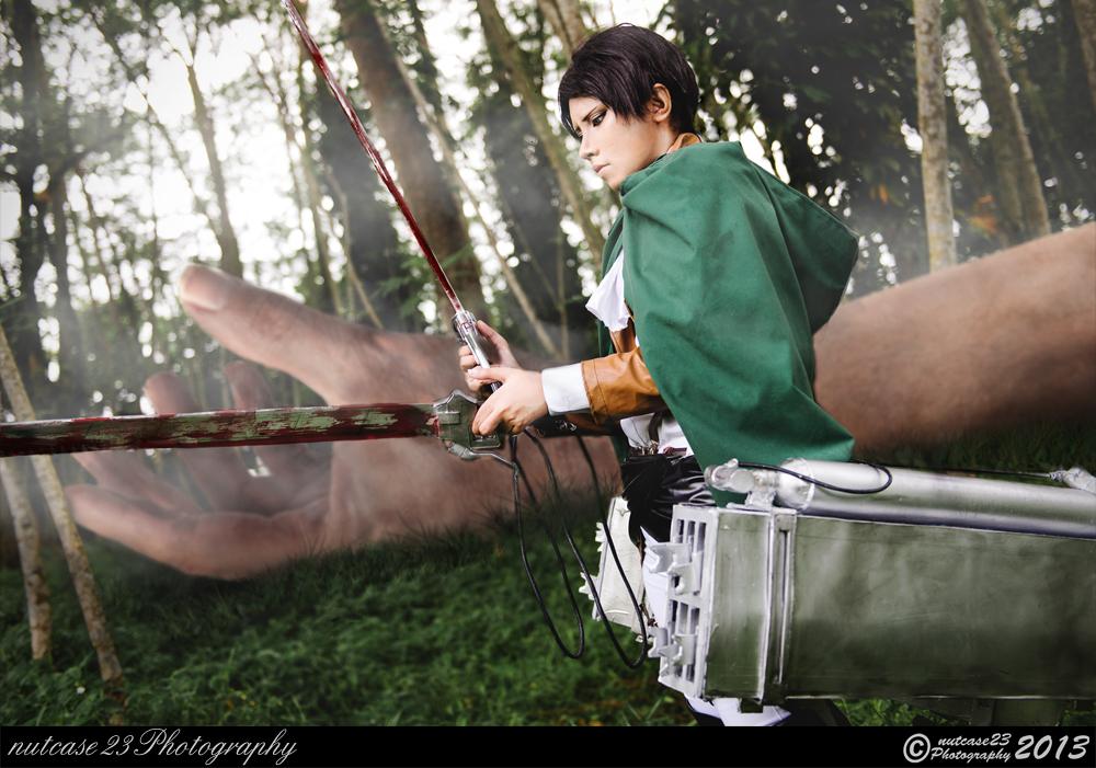 Rivai the Titan Slayer by nutcase23