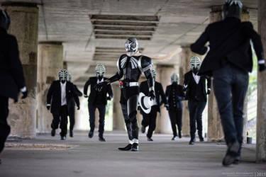 Kamen Rider Skull - Goon Rush by nutcase23