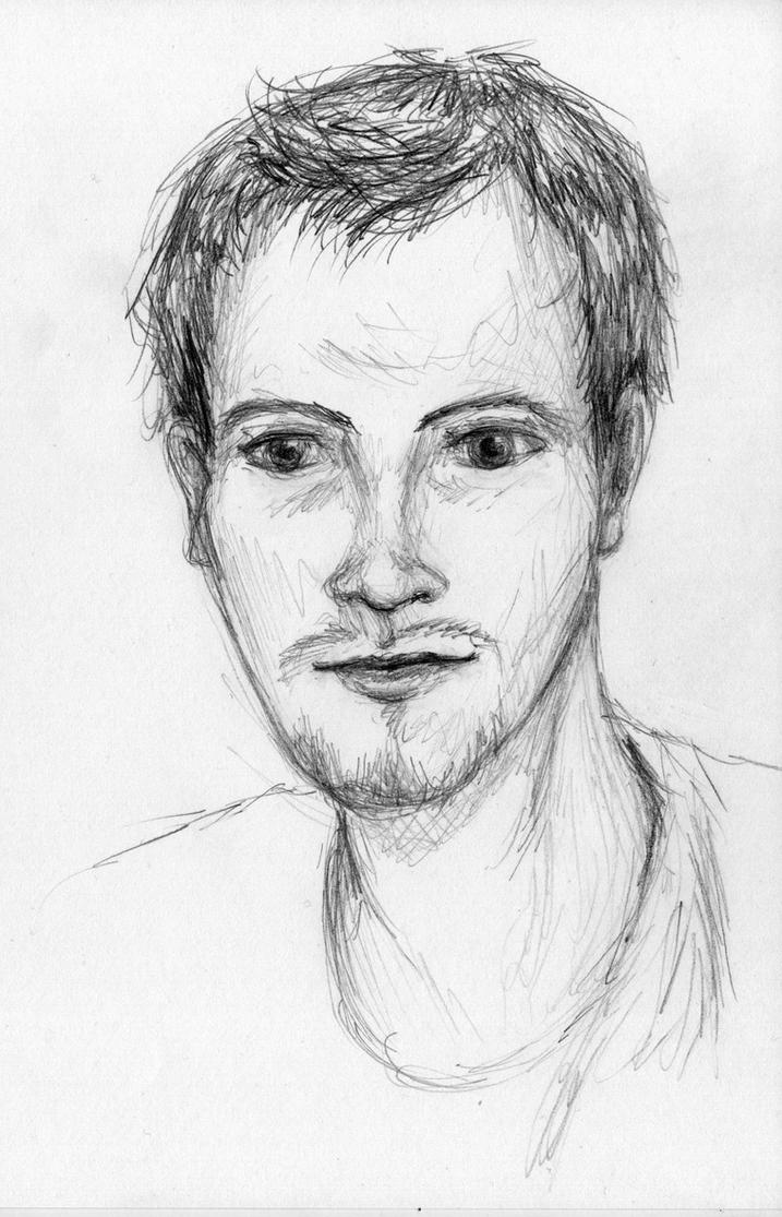 Portrait of a Friend by SpyroShurtagul