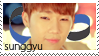 Sunggyu Stamp by Simul8ter8