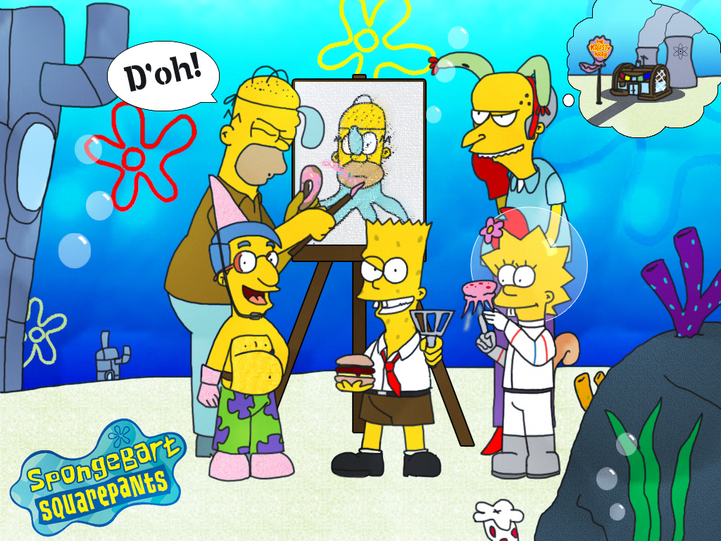 spongebart squarepants by finalverdict on deviantart