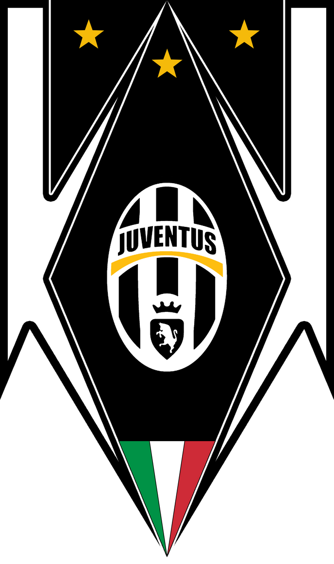 Juventus bandiera by finalverdict on deviantart for Sfondo juventus hd