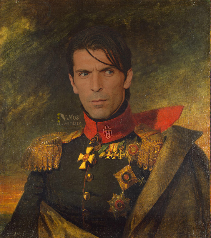 Buffon the Supergeneral by finalverdict