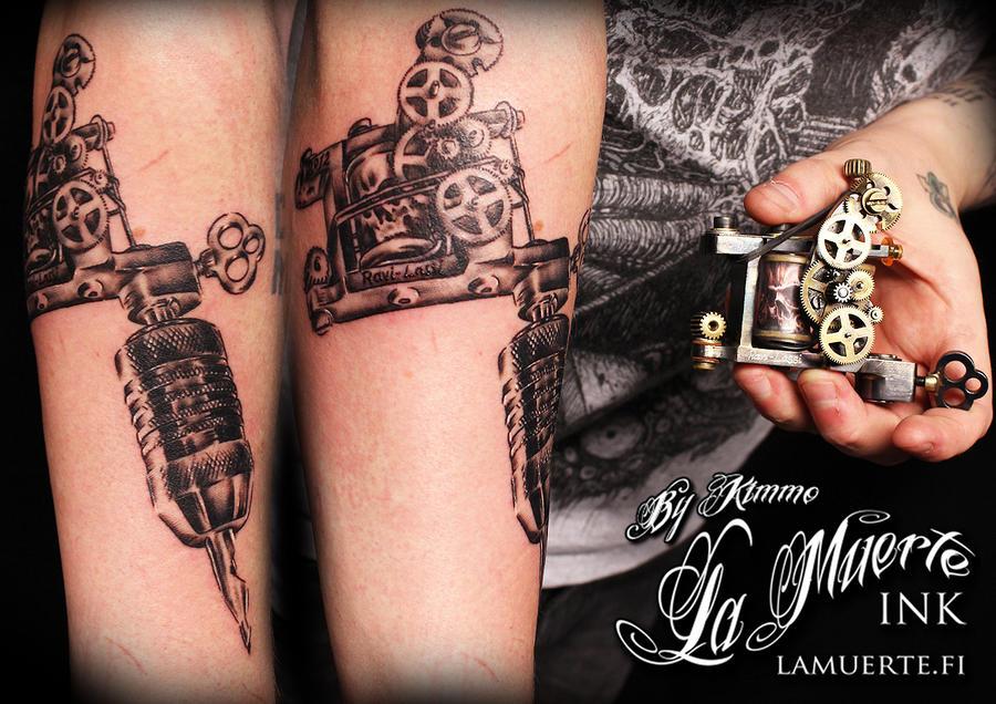 Realistic Tattoo Machine By KimAnger