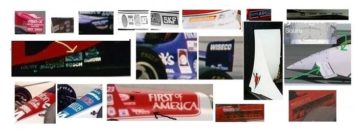 Selected Unknown Indycar sponsors Final Part