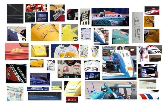 Unknown F3000 sponsors question collage part 2