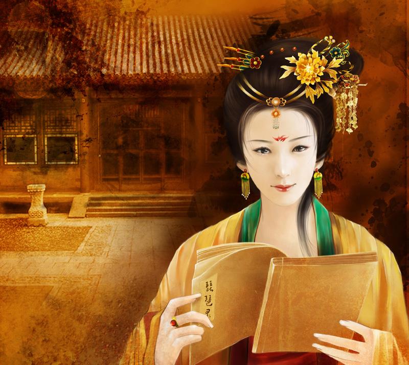 woman by hazhangzhong